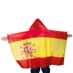 PONCHO BANDERA ESPAÑOLA - Imagen 1