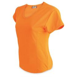 CAMISETA MUJER D&F NA FLUO - Imagen 1