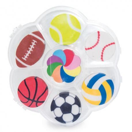 SET DE GOMAS SPORT BALL - Imagen 1