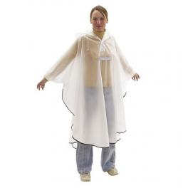 Poncho con bandas reflectantes (0,09mm)